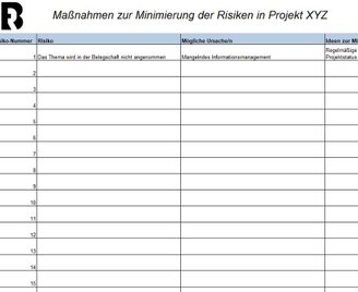 Projektmanagement Risiken
